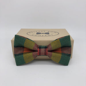 County Londonderry Tartan Bow Tie - Ulster County Tartan Collection by the Belfast Bow Company