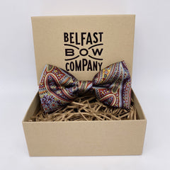 Liberty of London Silk Bow Tie in Paisley Park