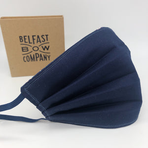 Face Covering by the Belfast Bow Company - Cotton, triple layered and washable