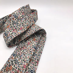 Liberty of London Tie in Burnt Orange Ditsy Floral by the Belfast Bow Company