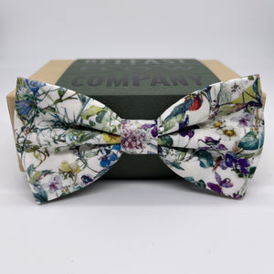 Liberty of London Bow Tie in Wildflowers by the Belfast Bow Company