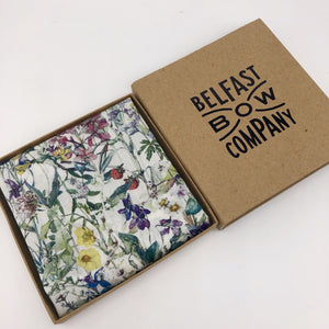 Liberty of London Pocket Square in Wildflowers