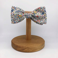 Liberty of London Self Tie Bow Tie in Multi Floral by the Belfast Bow Company