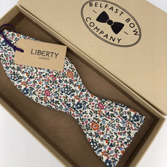 Liberty of London Self-Tie Bow Tie in Ditsy Floral by the Belfast Bow Company