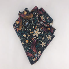 Liberty of London Pocket Square in Forbidden Fruit