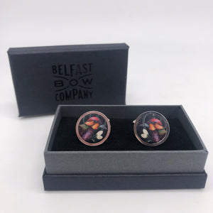 Liberty of London Cufflinks in Forbidden Fruit