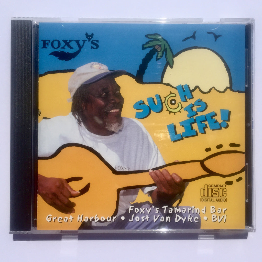 """Such Is Life"" CD - Foxy Callwood, Live at Foxy's"