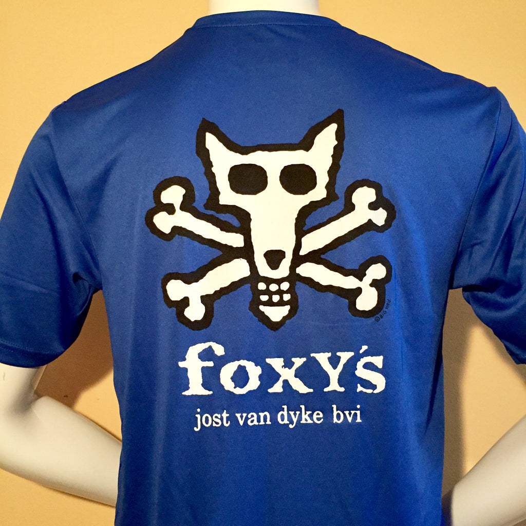 Foxy's 'Skull & Bones' Short Sleeve Performance Tee