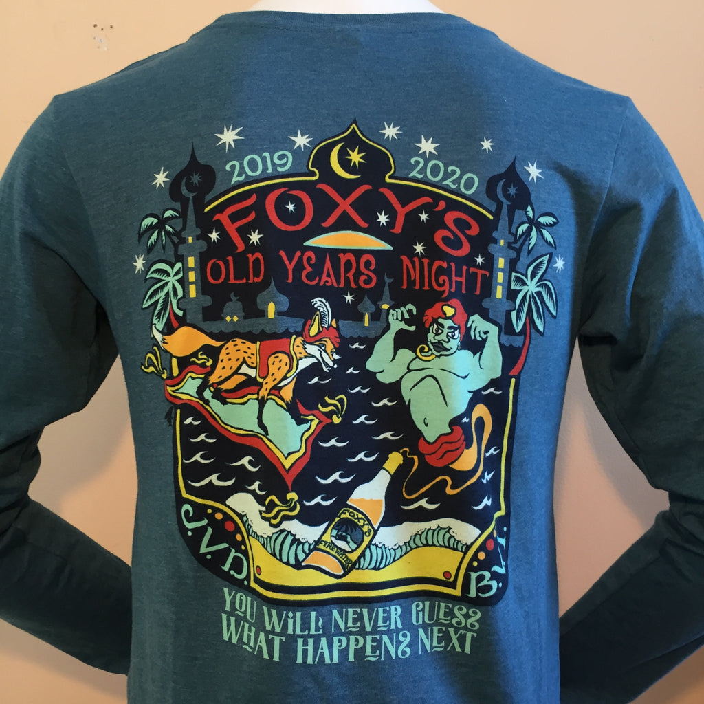 Foxy's 'Arabian Nights' OYN Event 2020- Long Sleeve Tee