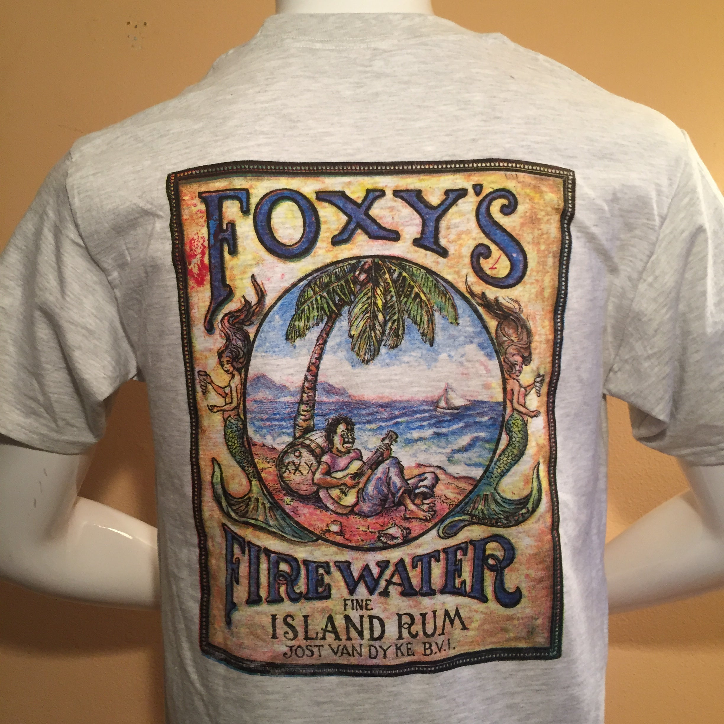 Foxy's Firewater Short Sleeve Pocket Tee