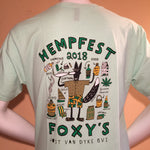 Foxy's Hempfest Short Sleeve Event Tee