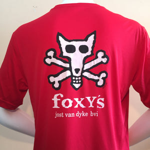Foxy's 'Skull & Crossbones' Short Sleeve Performance Tee