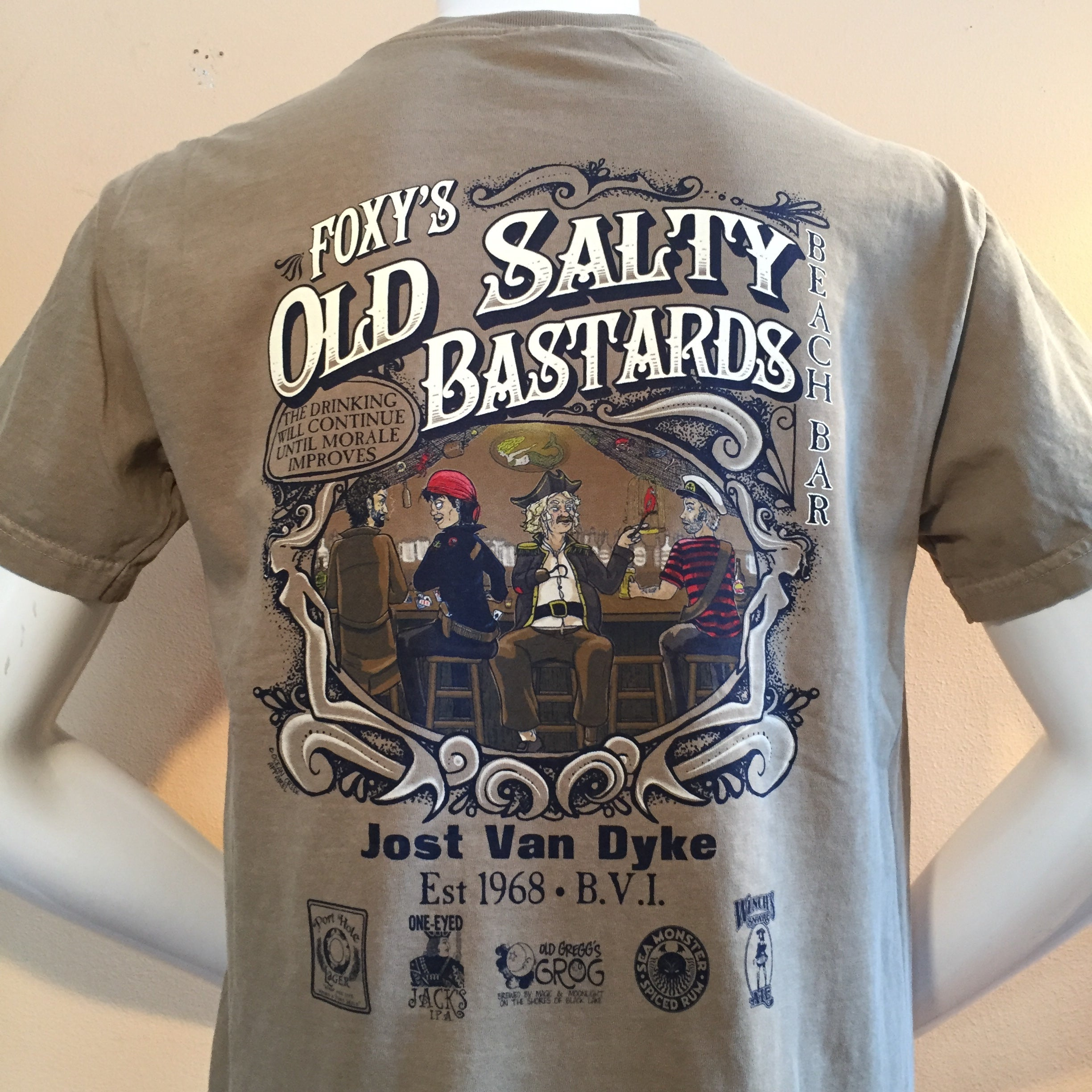 Foxy's 'Old Salty Bs' Short Sleeve Tee