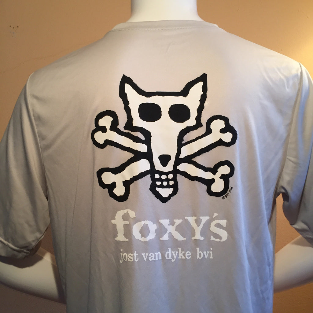 Foxy's Skull & Crossbones Short Sleeve Active Tee