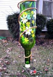Hummingbird Wine Bottle Feeder <br> Paint & Sip <br> Iron Pig<br> Gaylord<br> April 24th <br>Public Welcome
