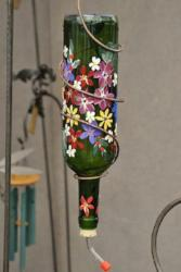 Hummingbird Wine Bottle Feeder <br> Paint & Sip <br> Paul's Pub<br>Johannburg<br> April 29th <br>Public Welcome