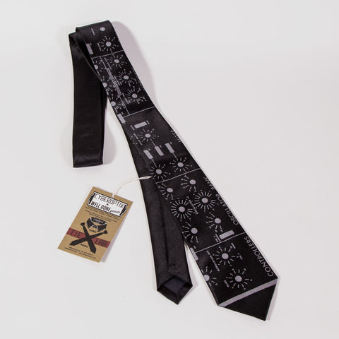 Minimoog necktie by Cyberoptix (limited stock!)