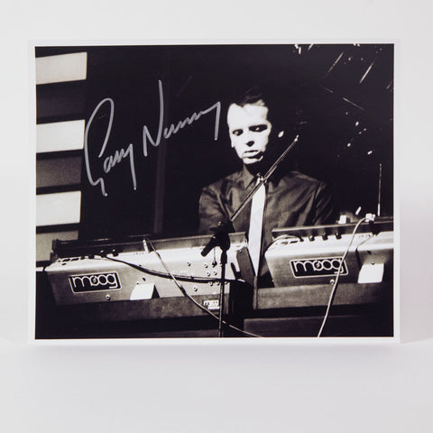 "Gary Numan signed 8""x10"" photo (limited stock!)"