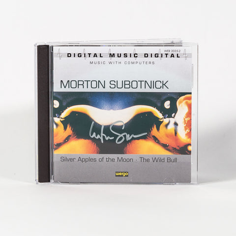 "SIGNED COPY: Morton Subotnick ""Silver Apples... / The Wild Bull"" (CD)"