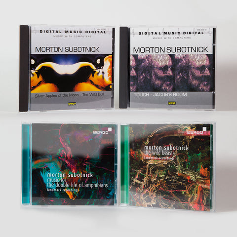 Morton Subotnick: WERGO label collection (4x CD releases)