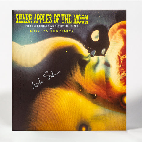 "SIGNED ORANGE VINYL EDITION: Morton Subotnick ""Silver Apples of the Moon"" (deluxe gatefold vinyl reissue)"