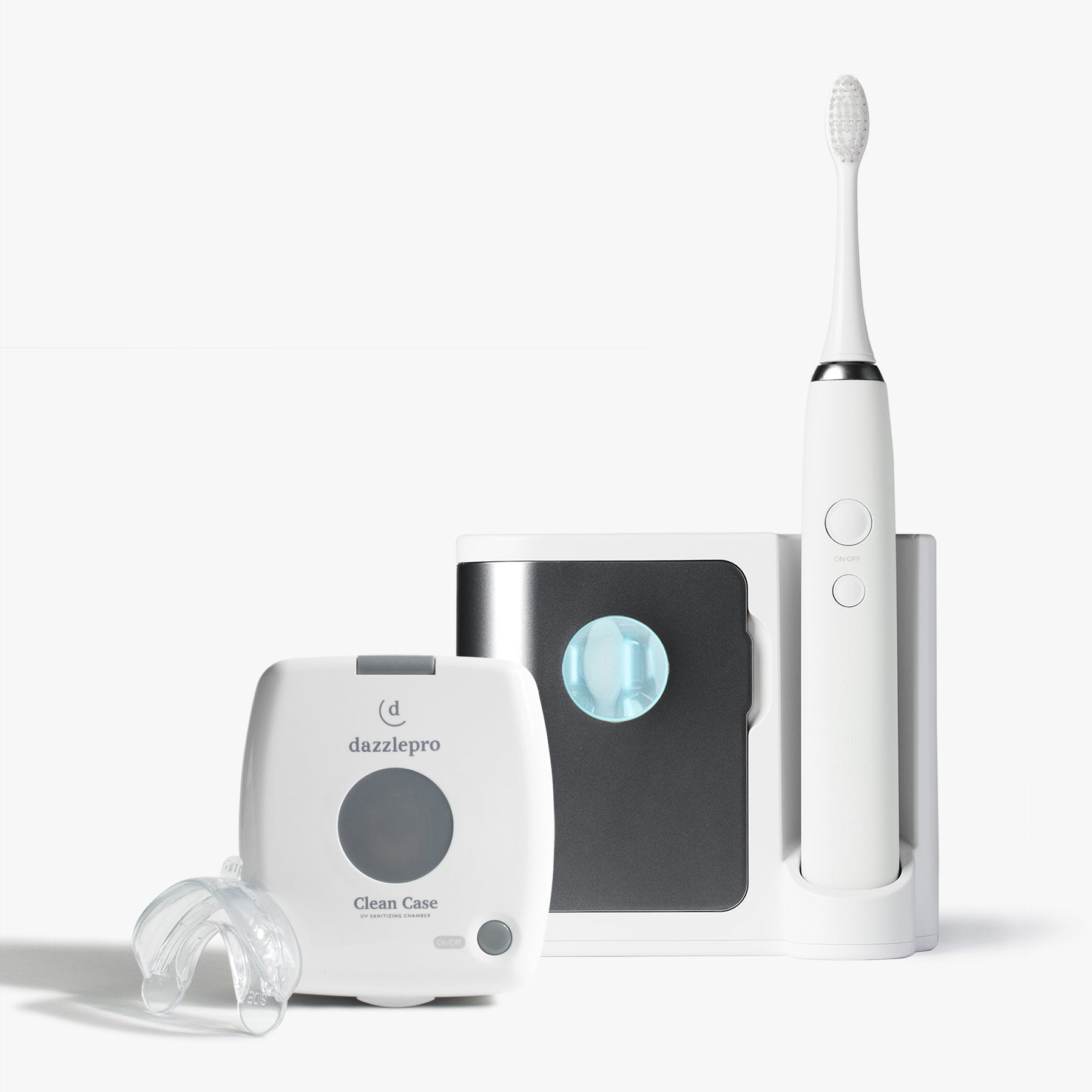 Oral Bundle | Sonic Toothbrush & UV Dental Sanitizer Charcoal