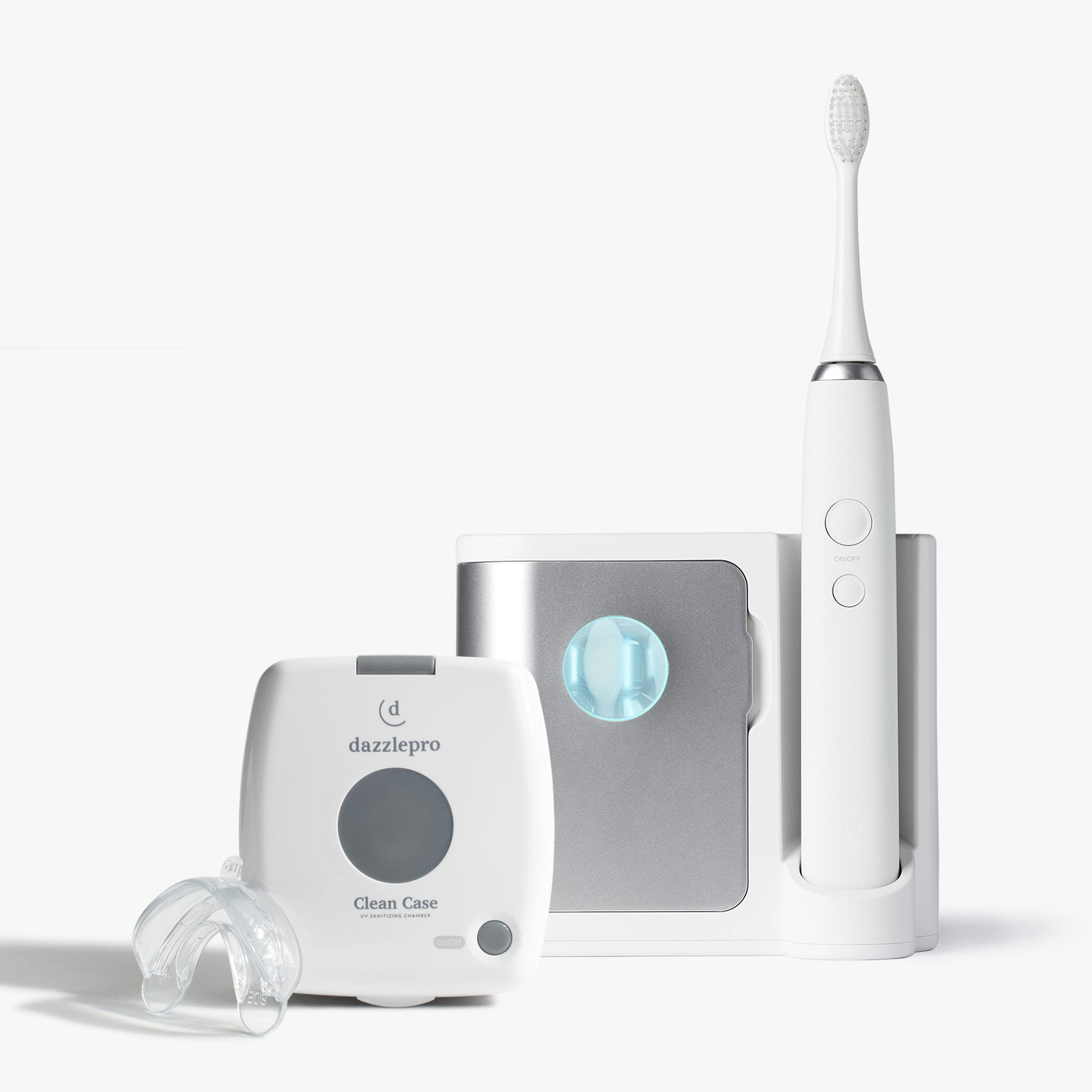 Oral Bundle | Sonic Toothbrush & UV Dental Sanitizer Silver