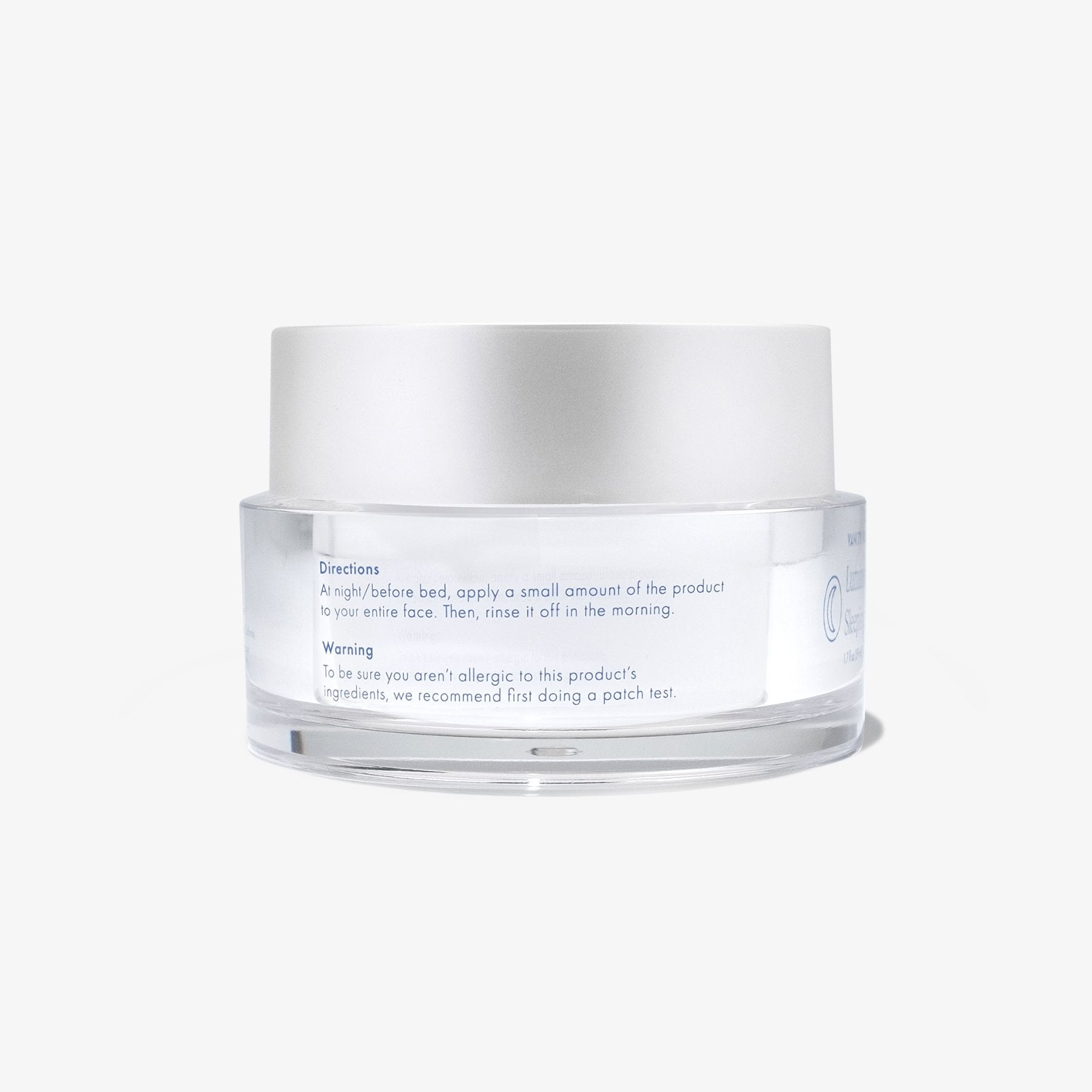 Luminous Repair Sleeping Mask.