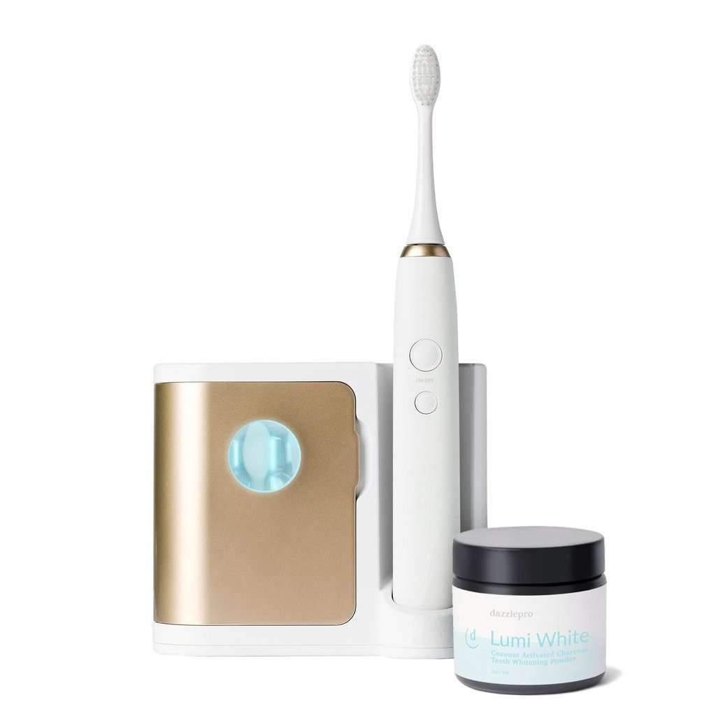 Elements : Toothbrush with Lumi White Natural Whitening Powder