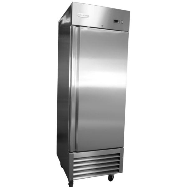 Serv-ware RF-1-19 One Door Stainless Steel Reach-in Freezer
