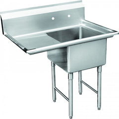 "GSW SEE18181L 1 Compartment Sink 18x18"" - Left Drainboard"