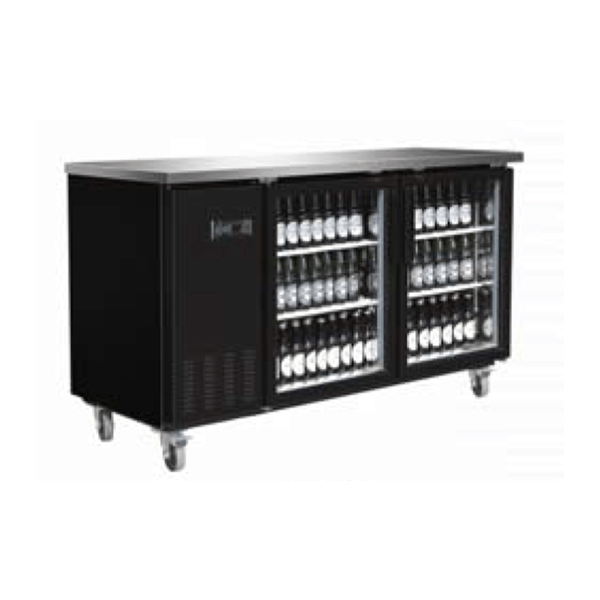 Serv-ware BB3-24G-HC Glass Door Backbar Bottle Cooler