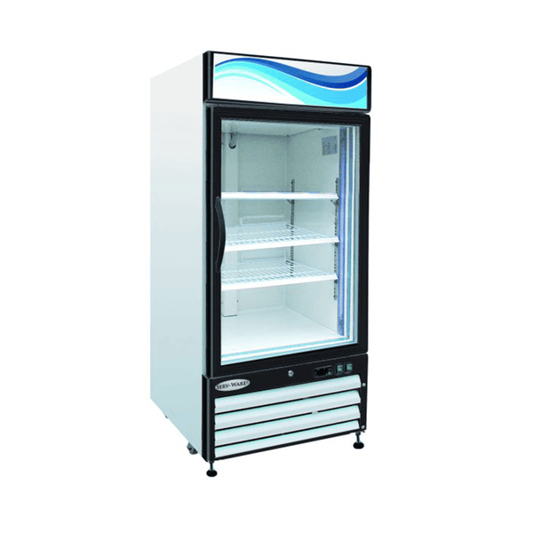Serv-ware GR-16 One Door Glass Reach-In Refrigerator