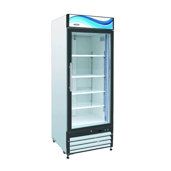 Serv-ware GF-23 One Door Glass Reach-In Freezer