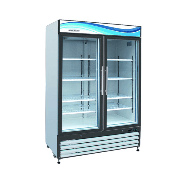 Serv-ware GF-48 Two Door Glass Reach-In Freezer