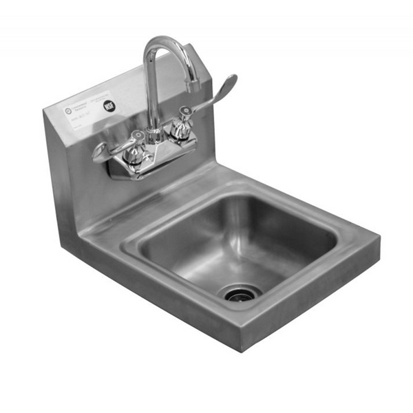 Serv-ware HS15-CWP Hand Sink w/ Faucet