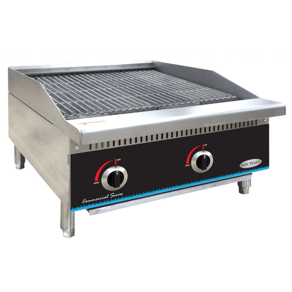 Serv-ware SCBS-48 Radiant Charbroiler