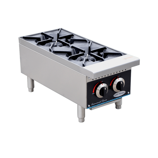 Serv-ware SHPS-12 Two Burner Hot Plate
