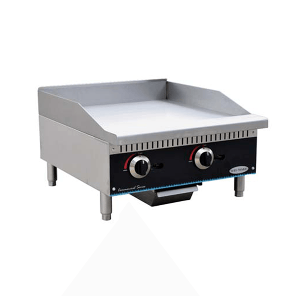 Serv-ware SMGS-24 Manual Griddle