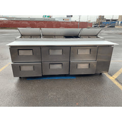 USED 93 Inch Pizza Prep Table