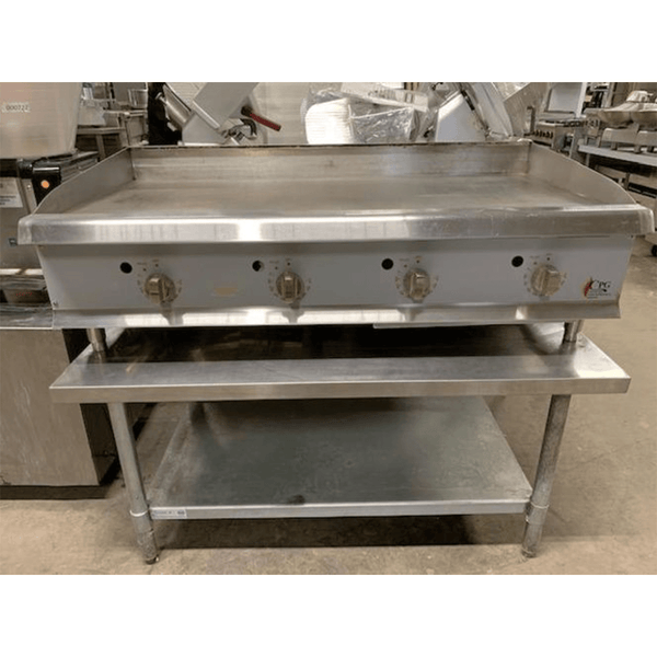 USED CPG Thermostatic 48 Inch Gas Griddle