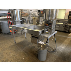 "USED Cretors Twin Giant 81"" Table Twin Shelf 48oz Kettle & Carmelizer"