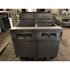 USED Dean SCFAD260GNC FryMaster Gas 2 Well Fryer