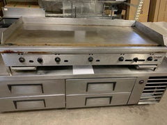 USED Jade 60'' Thermostatic Controlled Griddle