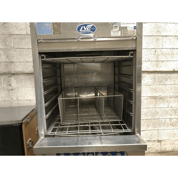 USED LVO FL14E Front Load Pan & Rack Washer