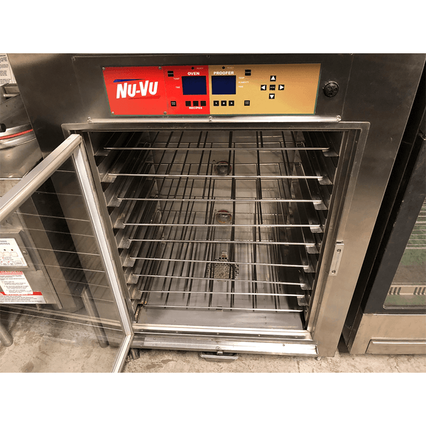 USED NU-VU SUB-123 Oven/Proofer Combo w/ Self Vent