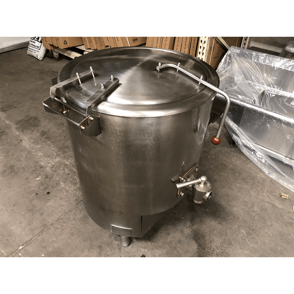 USED Vulcan GL40E 40 Gallon Gas Steam Kettle