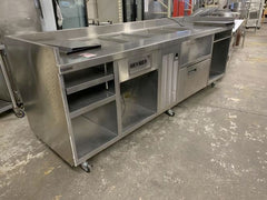 Used Delfield Hot & Cold combo prep Chef Island