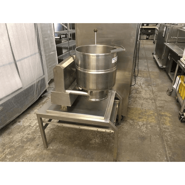 USED Groen Gas Tilt Steam Kettle