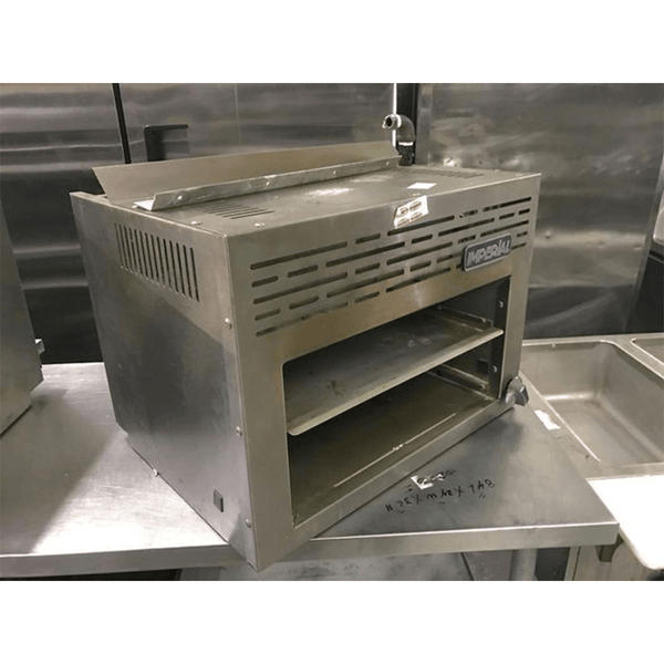 USED Imperial Gas Cheese Melter